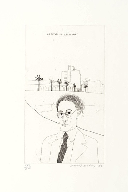Portrait of Cavafy in Alexandria 1966 David Hockney born 1937 Purchased 1992 http://www.tate.org.uk/art/work/P77563