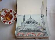 Late nite art in Istanbul