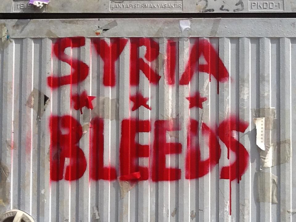 Syria bleeds…